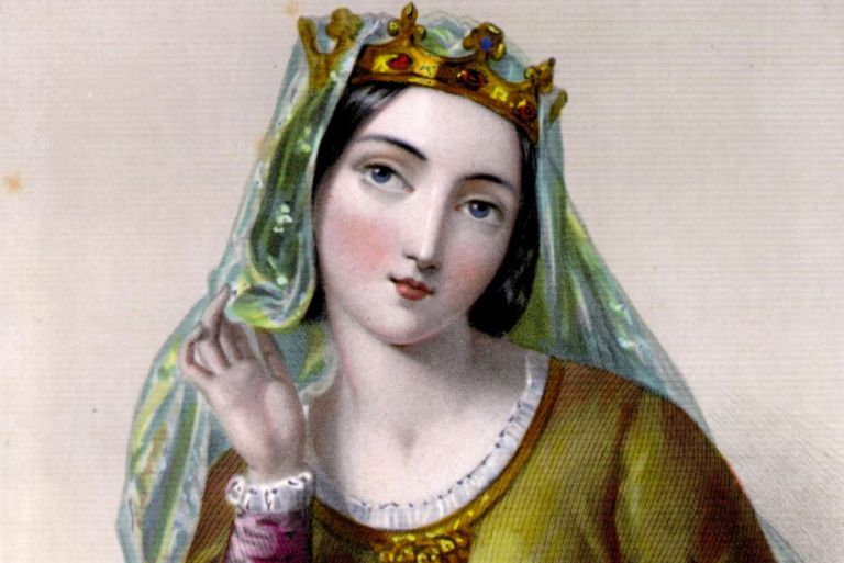 Painting of Isabella of Angouleme